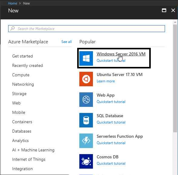 How to create VM in Azure (Azure Portal) – Tech Trainer