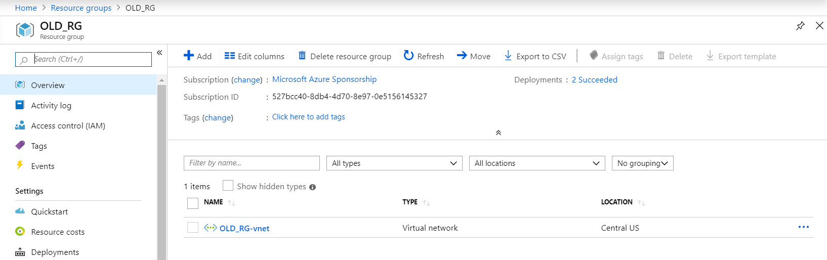 How to solve issue with moving Azure SQL VM to different